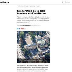 Immobilier emiliem pearltrees - Exoneration taxe fonciere renovation ...