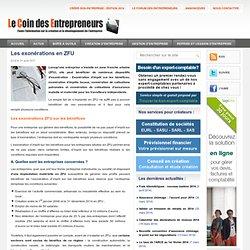 Les exonérations des entreprises installées en ZFU, zone franche urbaine