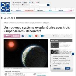 Un nouveau système exoplanétaire avec trois «super-Terres» découvert