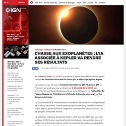 Chasse aux exoplanètes : l'IA associée à Kepler va rendre ses résultats