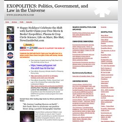 EXOPOLITICS: Politics, Government, and Law in the Universe