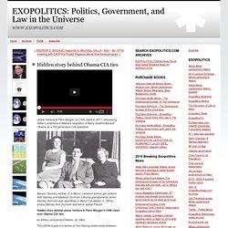 Hidden story behind Obama CIA ties