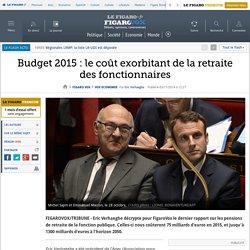 Budget 2015 : le coût exorbitant de la retraite des fonctionnaires