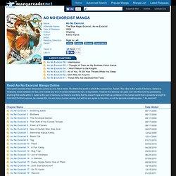 Ao No Exorcist Manga - Read Ao No Exorcist Online For Free