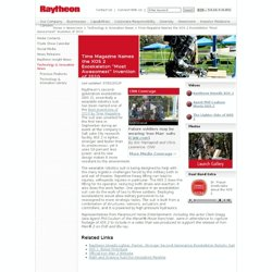 "Company: Time Magazine Names the XOS 2 Exoskeleton ""Most Awesomest"" Invention of 2010"