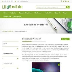 Exosomes Platform - Lifeasible