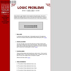 Expand Your Mind (CLASSIC LOGIC PROBLEMS)