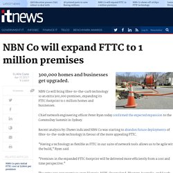 NBN Co will expand FTTC to 1 million premises - Telco/ISP - iTnews