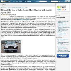 Rolls Royce Silver Shadow Spare Parts