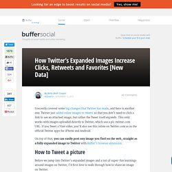 How Twitter's Expanded Images Increase Clicks, Retweets & Favorites