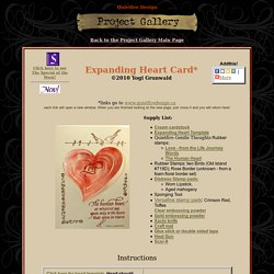 Expanding Heart Card Project