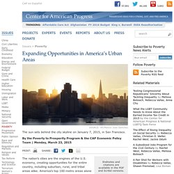 Expanding Opportunities in America's Urban Areas