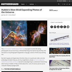 Hubble's Most Mind Expanding Photos of the Universe