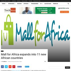 Mall for Africa expands into 11 new African countries