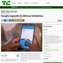 Google expands its African initiatives