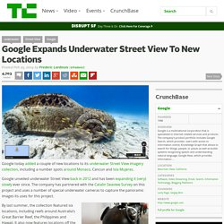 Google Expands Underwater Street View To New Locations