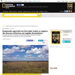 Expansão agrícola no Cerrado reduz o regime de chuvas inclusive na região Amazônica