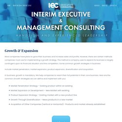 Get the Best Growth & Expansion Management Services Worldwide