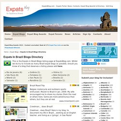 Expats In Brazil, Blogs by Expatriates Living, Working in Brazil - Directory