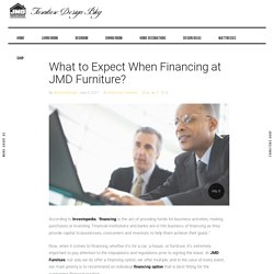 What to Expect When Financing at JMD Furniture