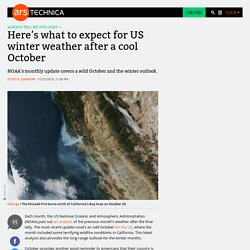 Here's what to expect for US winter weather after a cool October