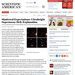 Shattered Expectations: Ultrabright Supernovae Defy Explanation