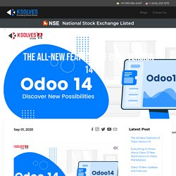 Know All about Odoo 14 Expected New Features and Roadmap for 2020