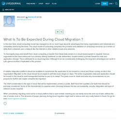 What Is To Be Expected During Cloud Migration ?: abacasys1