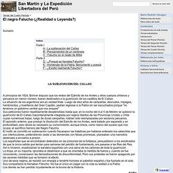 El negro Falucho (¿Realidad o Leyenda?) - San Martín y La Expedición Libertadora del Perú