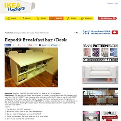 Expedit Breakfast bar / Desk