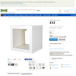EXPEDIT Shelving unit - white