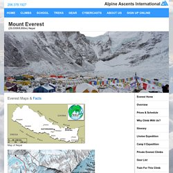 Mount Everest Guided Climbing Expedition with Alpine Ascents International