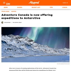 Adventure Canada is now offering expeditions to Antarctica