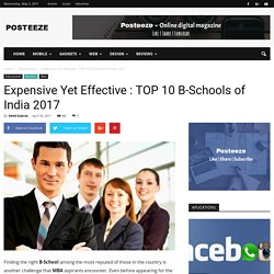 Top 10 Business Schools of India