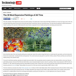 The 30 Most Expensive Paintings of All Time - Technology.am