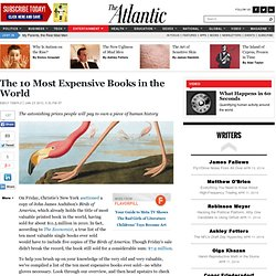 The 10 Most Expensive Books in the World - Emily Temple - Entertainment