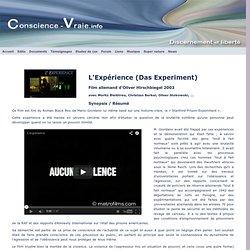 L'Expérience (Das experiement)- Le film sur l'éxpérience de Standford