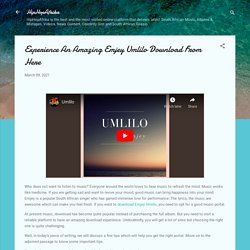 Experience An Amazing Emjey Umlilo Download From Here