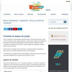 Retour d'experience : AngularJS + D3.js au service de la DataViz