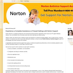Norton Technical Support Australia Toll free Number 1-800-958-211: Experience a Complete Assistance on Firewall Settings with Norton Support