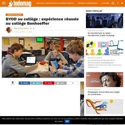 BYOD au collège : expérience réussie au collège Bonhoeffer