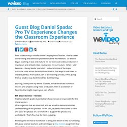 Guest Blog Daniel Spada: Pro TV Experience Changes the Classroom Experience