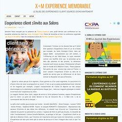 L'experience client s'invite aux Salons