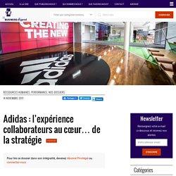 Adidas : l'expérience collaborateurs au cœur… de la stratégie