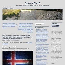 Cinq leçons de l'expérience ratée de l'Islande dans la création d'une constitution écrite par les citoyens, par Hélène Landemore