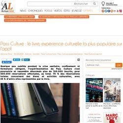 Pass Culture : le livre, expérience culturelle la plus populaire sur l'appli