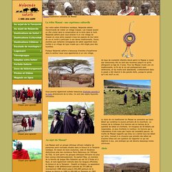 La tribu Maasai - exp rience culturelle - Naipenda Safaris