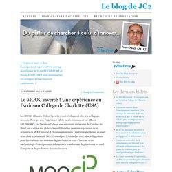 Le MOOC inversé ! Une expérience au Davidson College de Charlotte (USA)