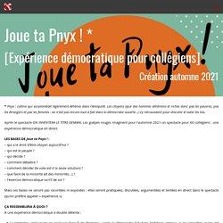 Joue ta Pnyx [Expérience démocratique]