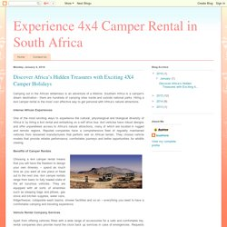 Discover Africa's Hidden Treasures with Exciting 4X4 Camper Holidays